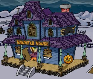 Mina casa embrujada